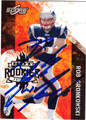 ROB GRONKOWSKI AUTOGRAPHED ROOKIE FOOTBALL CARD #93012i