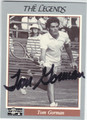 TOM GORMAN AUTOGRAPHED TENNIS CARD #93013B