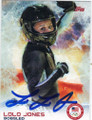 LOLO JONES OLYMPIC BOBSLED AUTOGRAPHED OLYMPICS CARD #11314C