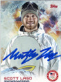 SCOTT LAGO OLYMPIC SNOWBOARDING AUTOGRAPHED OLYMPICS CARD #11314D