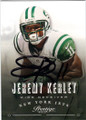 JEREMY KERLEY NEW YORK JETS AUTOGRAPHED FOOTBALL CARD #11314O