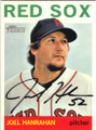 JOEL HANRAHAN BOSTON RED SOX AUTOGRAPHED BASEBALL CARD #11414F