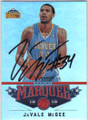 JaVALE McGEE DENVER NUGGETS AUTOGRAPHED BASKETBALL CARD #11414J