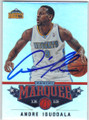 ANDRE IGUODALA DENVER NUGGETS AUTOGRAPHED BASKETBALL CARD #11514D