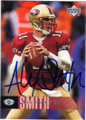ALEX SMITH SAN FRANCISCO 49ers AUTOGRAPHED FOOTBALL CARD #11614E