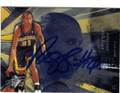 REGGIE MILLER INDIANA PACERS AUTOGRAPHED BASKETBALL CARD #11614F