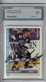 WAYNE GRETZKY LOS ANGELES KINGS GRADED, AUTOGRAPHED HOCKEY CARD #11714B