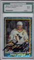 MARIO LEMIEUX PITTSBURGH PENGUINS GRADED, AUTOGRAPHED HOCKEY CARD #11714C