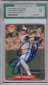 JIM PALMER BALTIMORE ORIOLES GRADED, AUTOGRAPHED BASEBALL CARD #11714E