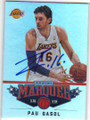 PAU GASOL LOS ANGELES LAKERS AUTOGRAPHED BASKETBALL CARD #11714L