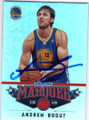 ANDREW BOGUT GOLDEN STATE WARRIORS AUTOGRAPHED BASKETBALL CARD #11814Q
