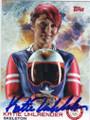 KATIE UHLAENDER OLYMPIC SKELETON AUTOGRAPHED CARD #12014B