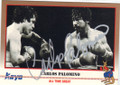 CARLOS PALOMINO AUTOGRAPHED BOXING CARD #12014C