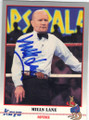 MILLS LANE AUTOGRAPHED BOXING CARD #12014J