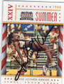JACKIE JOYNER-KERSEE OLYMPIC TRACK & FIELD AUTOGRAPHED CARD #12014L