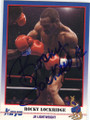 ROCKY LOCKRIDGE AUTOGRAPHED BOXING CARD #12114D