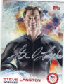 STEVE LANGTON OLYMPIC BOBSLED AUTOGRAPHED CARD #12114i