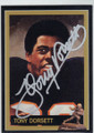 TONY DORSETT AUTOGRAPHED HEISMAN FOOTBALL CARD #12114N