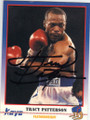 TRACY HARRIS PATTERSON AUTOGRAPHED BOXING CARD #12214A