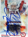MONIQUE LAMOUREUX AUTOGRAPHED OLYMPIC HOCKEY CARD #12214B