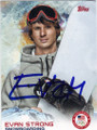 EVAN STRONG OLYMPIC SNOWBOARDING AUTOGRAPHED CARD #12314B