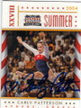 CARLY PATTERSON AUTOGRAPHED OLYMPIC GYMNASTICS CARD #12514H