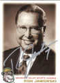 RON JAWORSKI AUTOGRAPHED FOOTBALL CARD #12714A