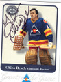 CHICO RESCH COLORADO ROCKIES AUTOGRAPHED HOCKEY CARD #12714Q
