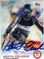 HEATH CALHOUN OLYMPIC ALPINE SKIING AUTOGRAPHED CARD #12914B