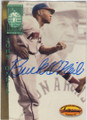 BUCK O'NEIL KANSAS CITY MONARCHS AUTOGRAPHED BASEBALL CARD #12914C