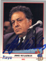 JOSE SULAIMAN AUTOGRAPHED BOXING CARD #12914G
