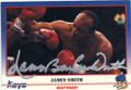 JAMES BONECRUSHER SMITH AUTOGRAPHED BOXING CARD #12914J