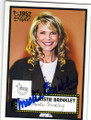 CHRISTIE BRINKLEY AUTOGRAPHED CARD #12914L