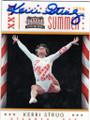 KERRI STRUG AUTOGRAPHED OLYMPICS GYMNASTICS CARD #13014L