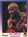 TONY THORNTON AUTOGRAPHED BOXING CARD #13114C