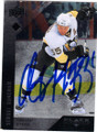 SERGEI GONCHAR PITTSBURGH PENGUINS AUTOGRAPHED HOCKEY CARD #20114D