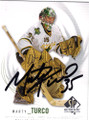 MARTY TURCO DALLAS STARS AUTOGRAPHED HOCKEY CARD #20314G