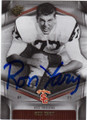 RON YARY USC TROJANS AUTOGRAPHED FOOTBALL CARD #20614D