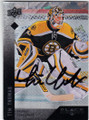 TIM THOMAS BOSTON BRUINS AUTOGRAPHED HOCKEY CARD #20614J