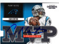 CAM NEWTON CAROLINA PANTHERS AUTOGRAPHED FOOTBALL CARD #20914C