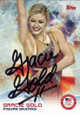 GRACIE GOLD AUTOGRAPHED OLYMPIC FIGURE SKATING CARD #21014A