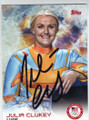 JULIA CLUKEY AUTOGRAPHED OLYMPIC LUGE CARD #21014D