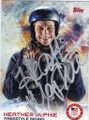 HEATHER McPHIE FREESTYLE SKIING AUTOGRAPHED OLYMPICS CARD #21014J