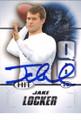 JAKE LOCKER WASHINGTON HUSKIES AUTOGRAPHED ROOKIE FOOTBALL CARD #21014K