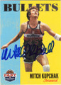 MITCH KUPCHAK WASHINGTON BULLETS AUTOGRAPHED BASKETBALL CARD #21314D