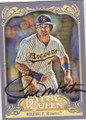 PAUL MOLITOR MILWAUKEE BREWERS AUTOGRAPHED BASEBALL CARD #21714E