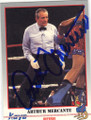 ARTHUR MERCANTE AUTOGRAPHED BOXING CARD #21914D