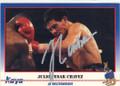 JULIO CESAR CHAVEZ AUTOGRAPHED BOXING CARD #21914E