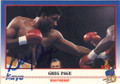 GREG PAGE AUTOGRAPHED BOXING CARD #22114H