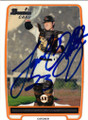 JOSEPH STALEY SAN FRANCISCO GIANTS AUTOGRAPHED ROOKIE BASEBALL CARD #22114i